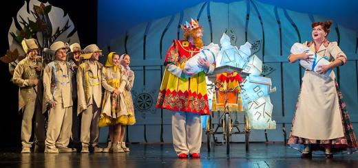 Театр им. А.С.Пушкина Три Ивана