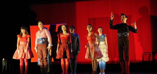 Театриум на Серпуховке п/р Терезы Дуровой Они поженились, и у них было много…